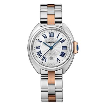 Cartier Cle Ladies' Stainless Steel 31mm Bracelet Watch - Product number 2951290
