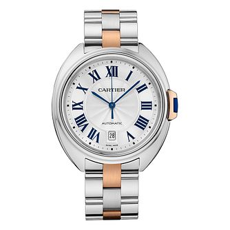 Cartier Cle Ladies' Stainless Steel 40mm Bracelet Watch - Product number 2951509