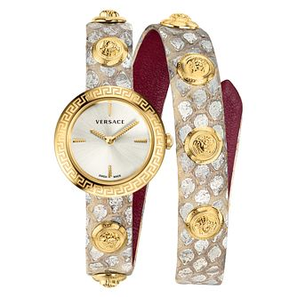Versace Medusa Stud Icon Leather Strap Watch - Product number 2951770