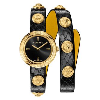 Versace Medusa Stud Icon Leather Strap Watch - Product number 2951789