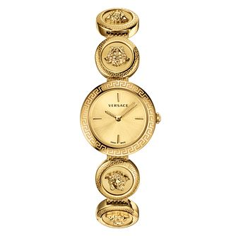 Versace Medusa Stud Icon Gold Plated Bracelet Watch - Product number 2951843