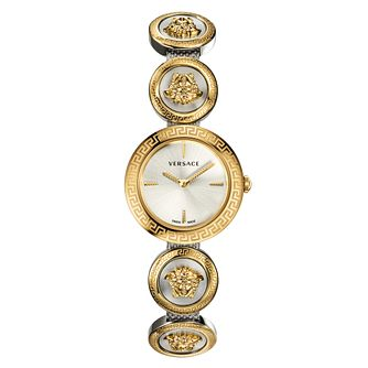 Versace Medusa Stud Icon Two-Tone Bracelet Watch - Product number 2951851