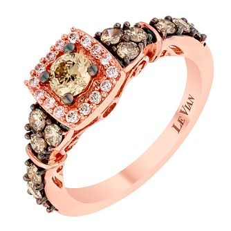 Le Vian 14ct Strawberry Gold Vanilla Diamond ring - Product number 2953501