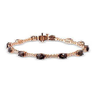 Le Vian 14ct Strawberry Gold Diamond Quartz Bracelet - Product number 2957078