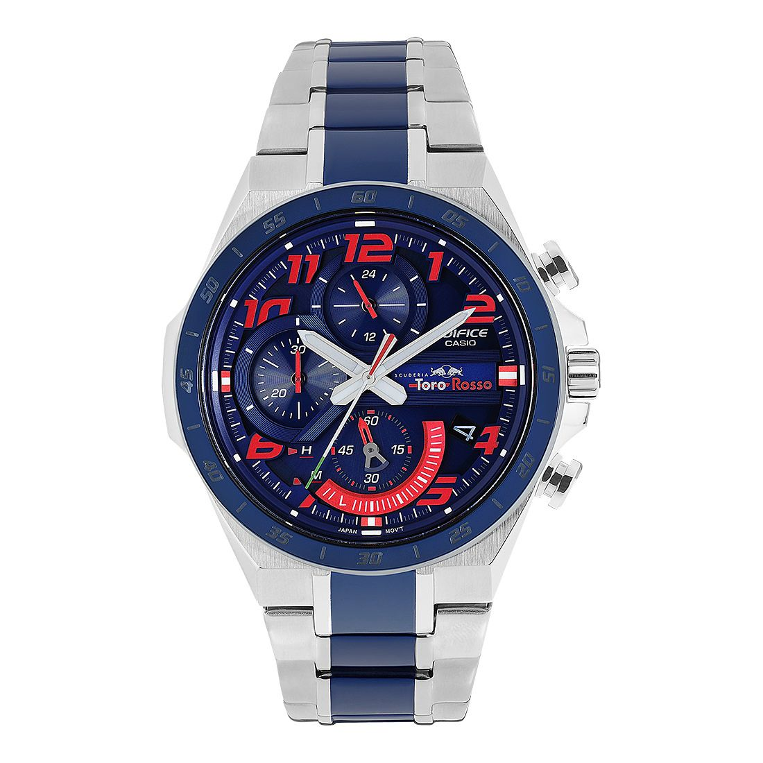 Casio Edifice Toro Rosso Stainless Steel Bracelet Watch - Product number 2962705