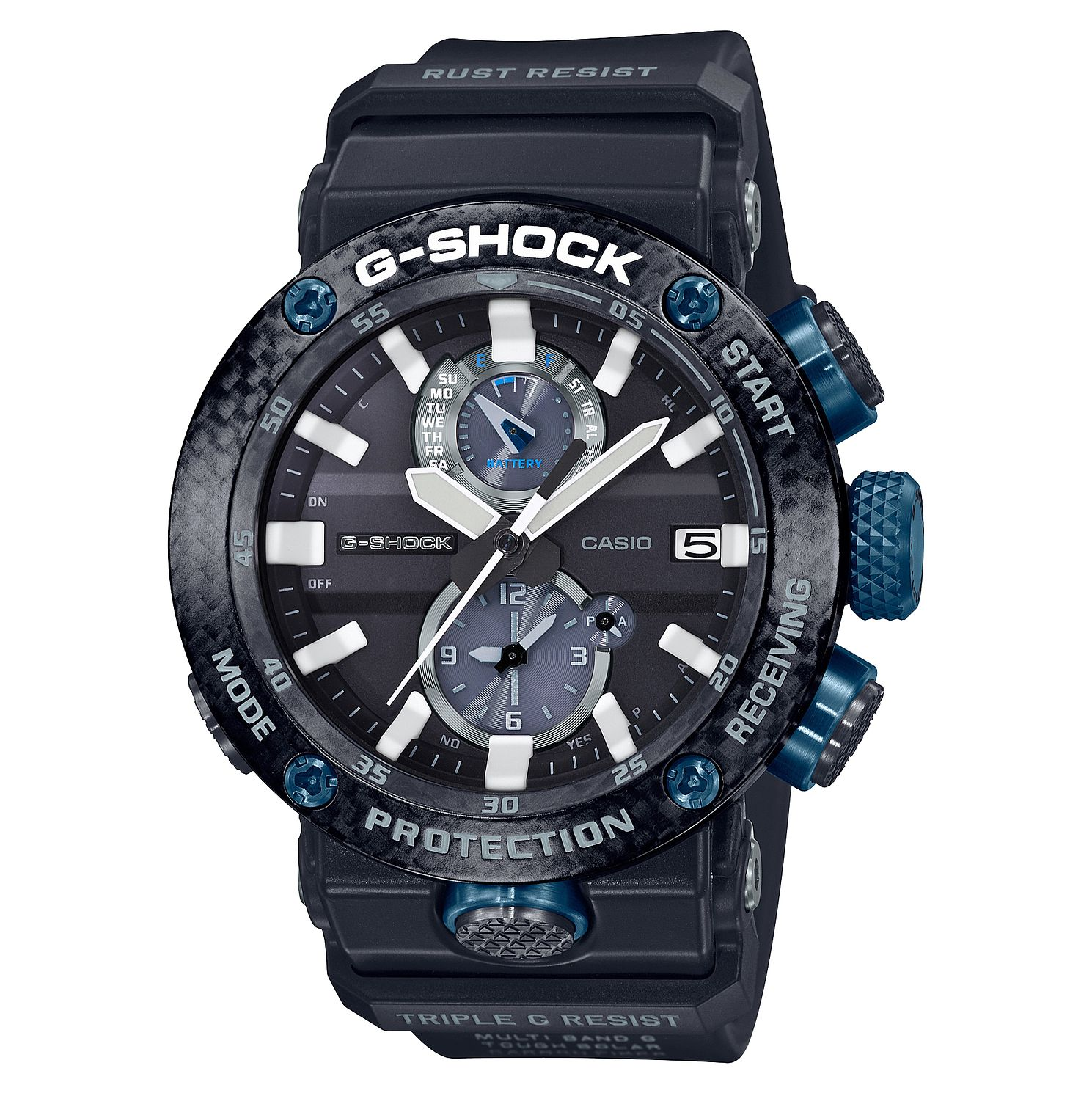 Casio G-Shock Gravitymaster Premium Black Rubber Strap Watch - Product number 2962837