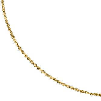 9ct Yellow Gold 18 inches Small Rope Chain - Product number 2967049