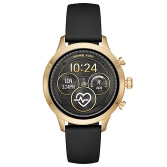 Michael Kors Gen 4 Ladies' Runway Gold Tone Smartwatch - Product number 2968398