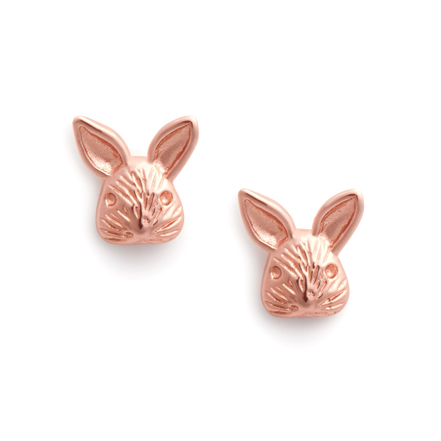 Olivia Burton Rose Gold Tone 3D Bunny Stud Earrings - Product number 2969955