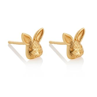 Olivia Burton Yellow Gold Tone 3D Bunny Stud Earrings - Product number 2970139