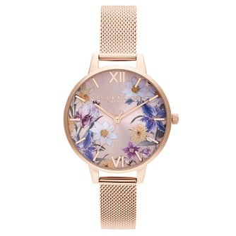 Olivia Burton Best In Show Rose Gold Tone Bracelet Watch - Product number 2970619