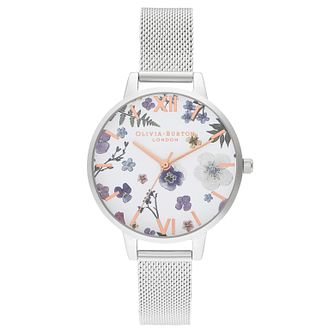 Olivia Burton Artisan Stainless Steel Mesh Bracelet Watch - Product number 2970678