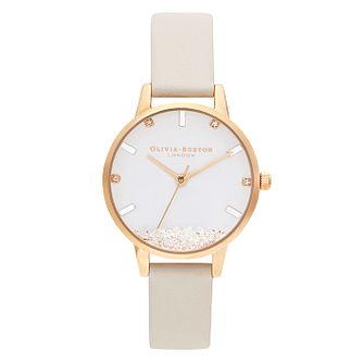 Olivia Burton The Wishing Nude Vegan Leather Strap Watch - Product number 2972328