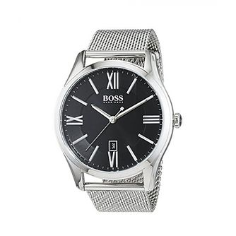 Hugo Boss Ambassador Men's Stainless Steel Bracelet Watch - Product number 2974215
