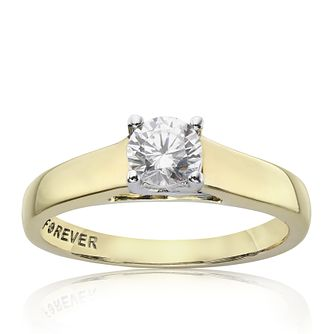 The Forever Diamond 9ct Gold 0.33ct Ring - Product number 2985691