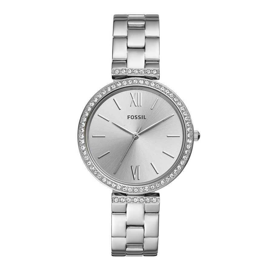 Fossil Ladies' Stone Set Stainless Steel Bracelet Watch - Product number 2988860