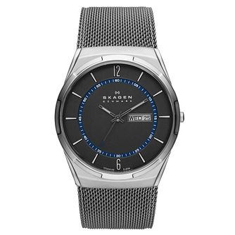 Skagen Melbye Men's Titanium Mesh Bracelet Watch - Product number 2990806