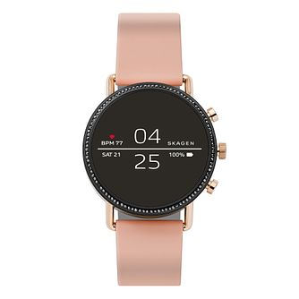 Skagen Connected Falster 2 Ladies' Silicone Strap Smartwatch - Product number 2995433