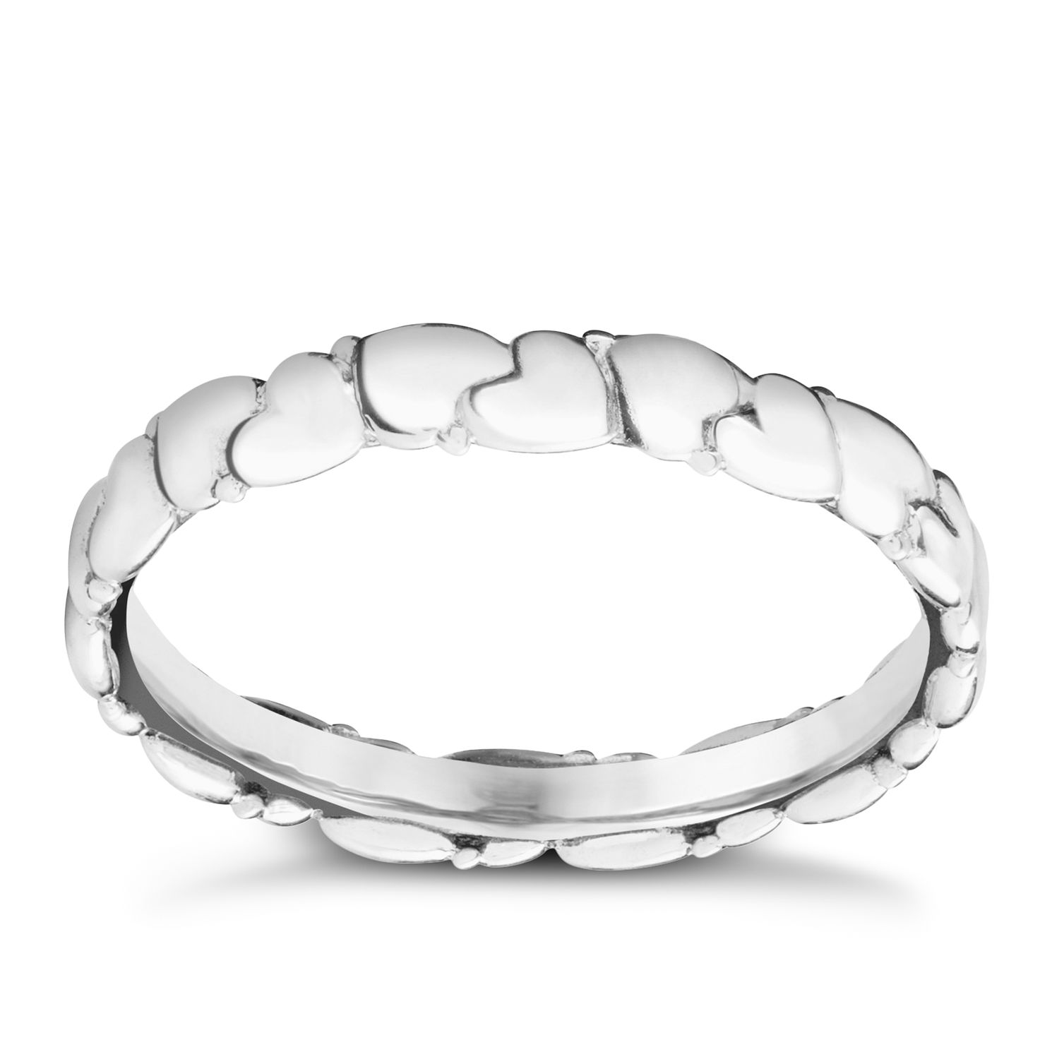 Chamilia Everlasting Hearts Stacking Ring Small - Product number 3026450