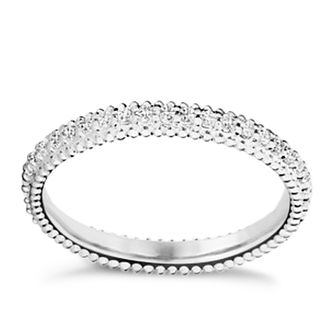 Chamilia Eternity sterling silver white zirconia ring small - Product number 3027600