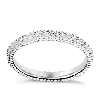 Chamilia Eternity sterling silver white zirconia ring medium - Product number 3027619
