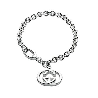 Gucci ladies' sterling silver double G bracelet - Product number 3027872
