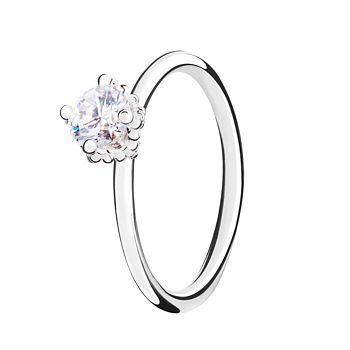 Chamilia Diva Swarovski Zirconia Stacking Ring Small - Product number 3028798