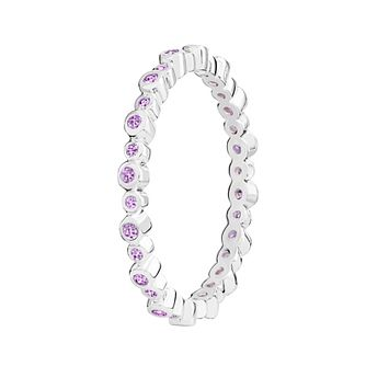 Chamilia Swarovski Zirconia Infinity Stacking Ring Small - Product number 3029808