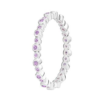Chamilia Swarovski Zirconia Infinity Stacking Ring Medium - Product number 3029816