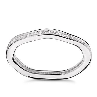 Chamilia Tranquillity Swarovski Zirconia Stacking Ring Small - Product number 3029840