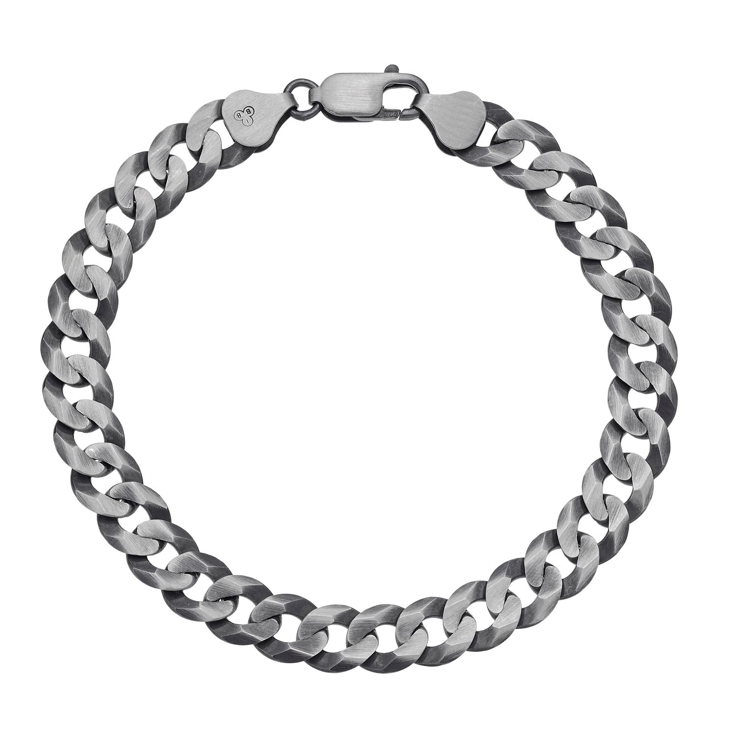 Sterling Silver 8 Inch Curb Chain Bracelet - Product number 3032930