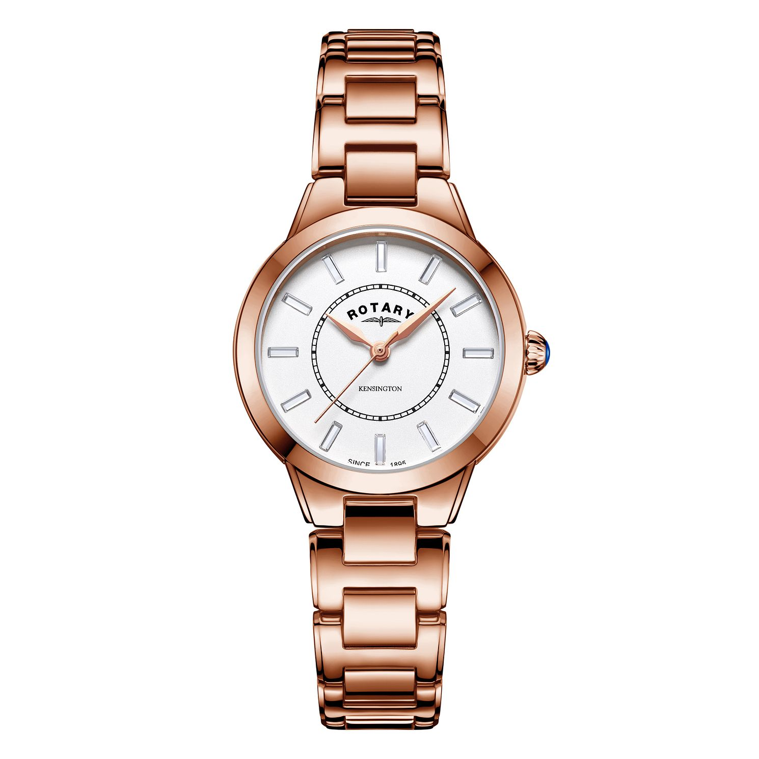 Rotary Kensington Ladies' Rose Gold Tone Bracelet Watch - Product number 3035883