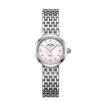 Rotary Balmoral Ladies' Stainless Steel Bracelet Watch - Product number 3036308