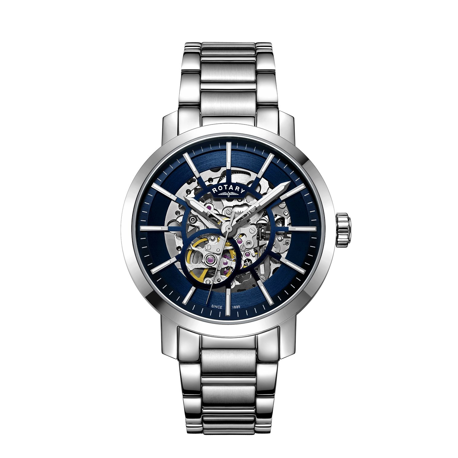 Rotary Men's Greenwich Stainless Steel Bracelet Watch - Product number 3040747