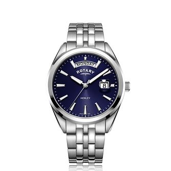 Rotary Men's Henley Stainless Steel Bracelet Watch - Product number 3040836