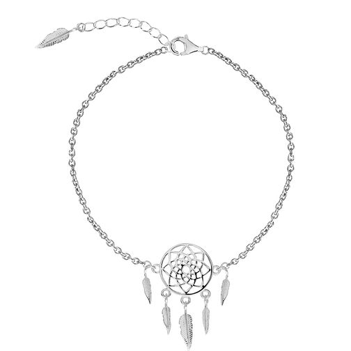 Silver Dreamcatcher Dangle Anklet - Product number 3043916