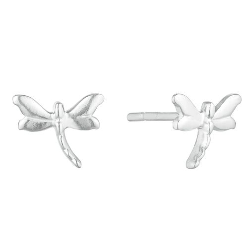 Silver Plain Firefly Stud Earrings - Product number 3045609