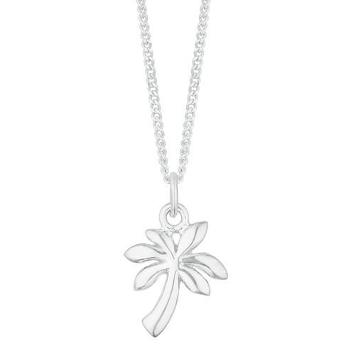 Silver Palm Tree Pendant - Product number 3047075