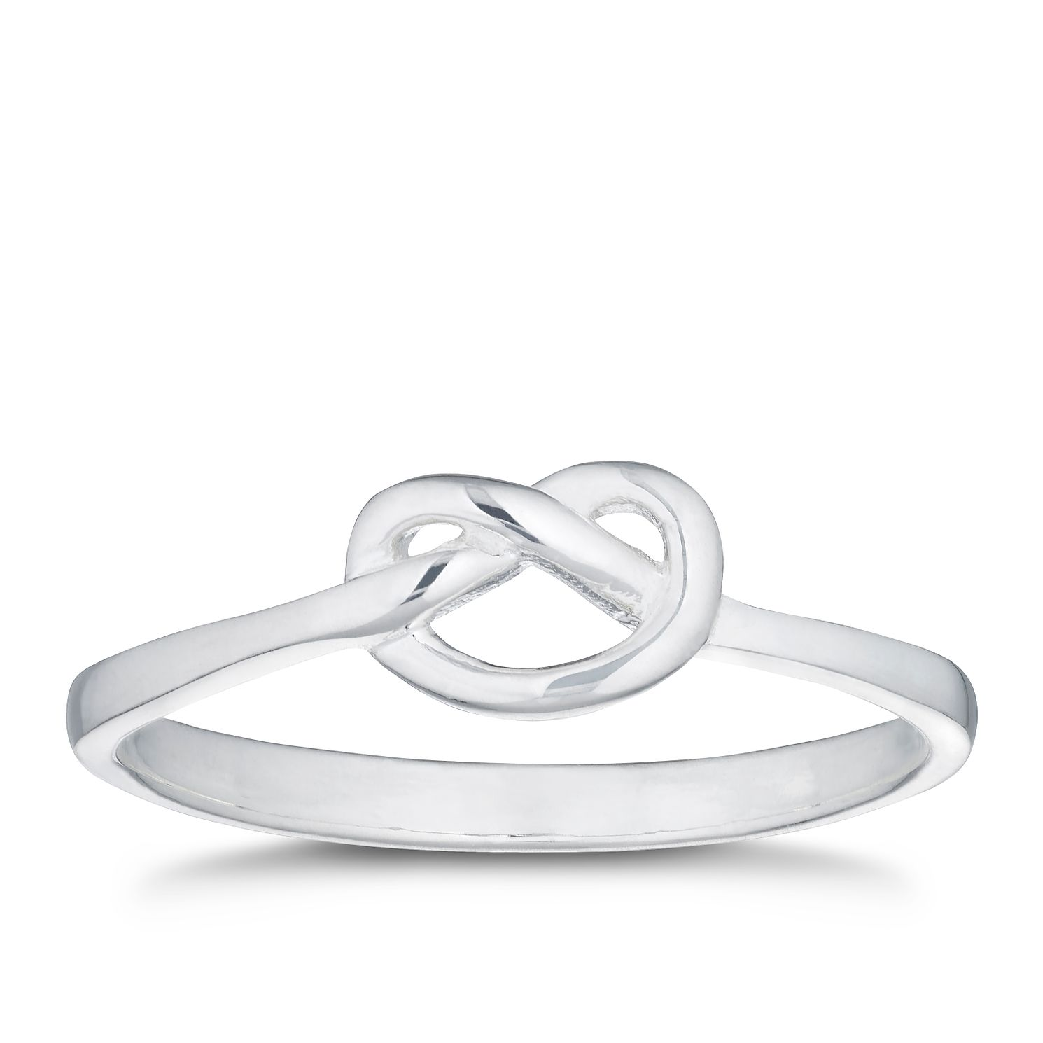 Silver Knot Ring - Size L - Product number 3047547