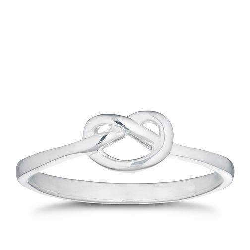 Silver Knot Ring - Size N - Product number 3047555