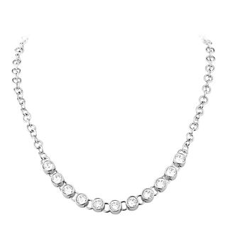 Dyrberg Kern Tanassy Sterling Silver Tennis Necklace - Product number 3055221