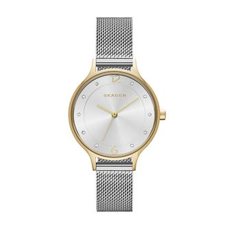 Skagen Anita Ladies' Stainless Steel Silver Bracelet Watch - Product number 3061817