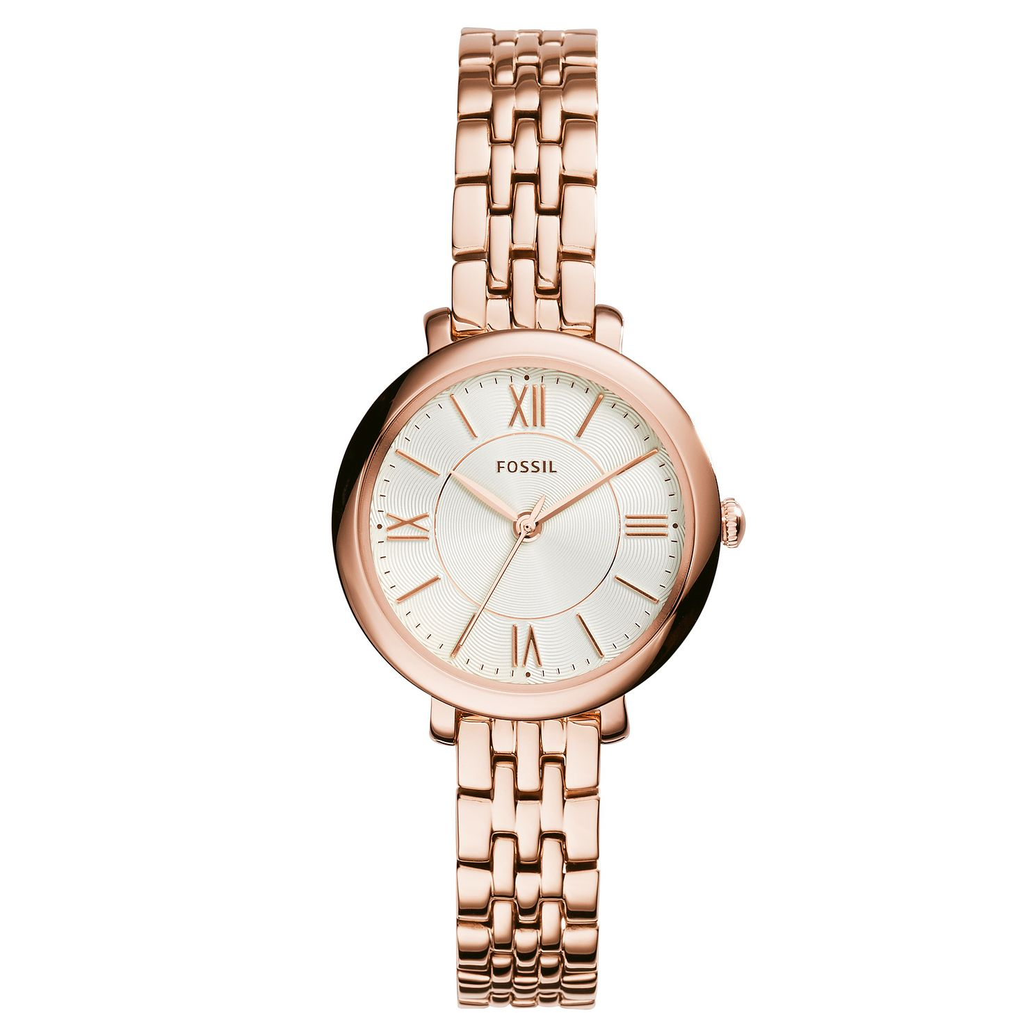 Fossil Ladies' Rose Gold Tone Bracelet Watch - Product number 3070913