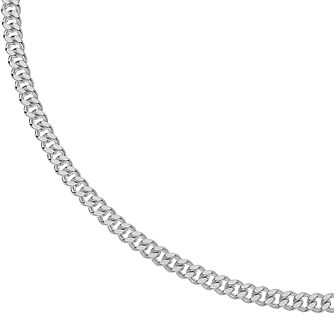 Silver 24 inches Curb Chain Necklace - 40g - Product number 3081443
