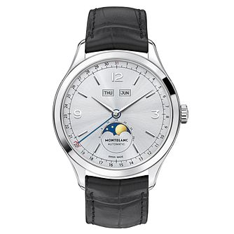 Montblanc Heritage Chronométrie Men's Black Strap Watch - Product number 3085236