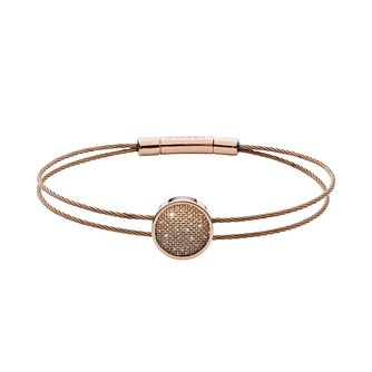 Skagen Merete Ladies' Rose Gold Tone Brilliant Mesh Bracelet - Product number 3086305
