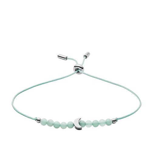 Fossil Nylon & Amazonite Stone Beaded Bracelet - Product number 3087395