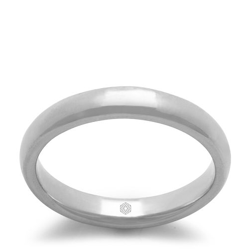 Baird Mint 18ct White Gold Arctic 3mm Court Ring - Product number 3089150