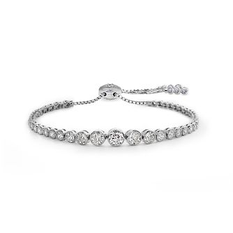 CARAT* LONDON Millennium Brilliants sterling silver bracelet - Product number 3095010