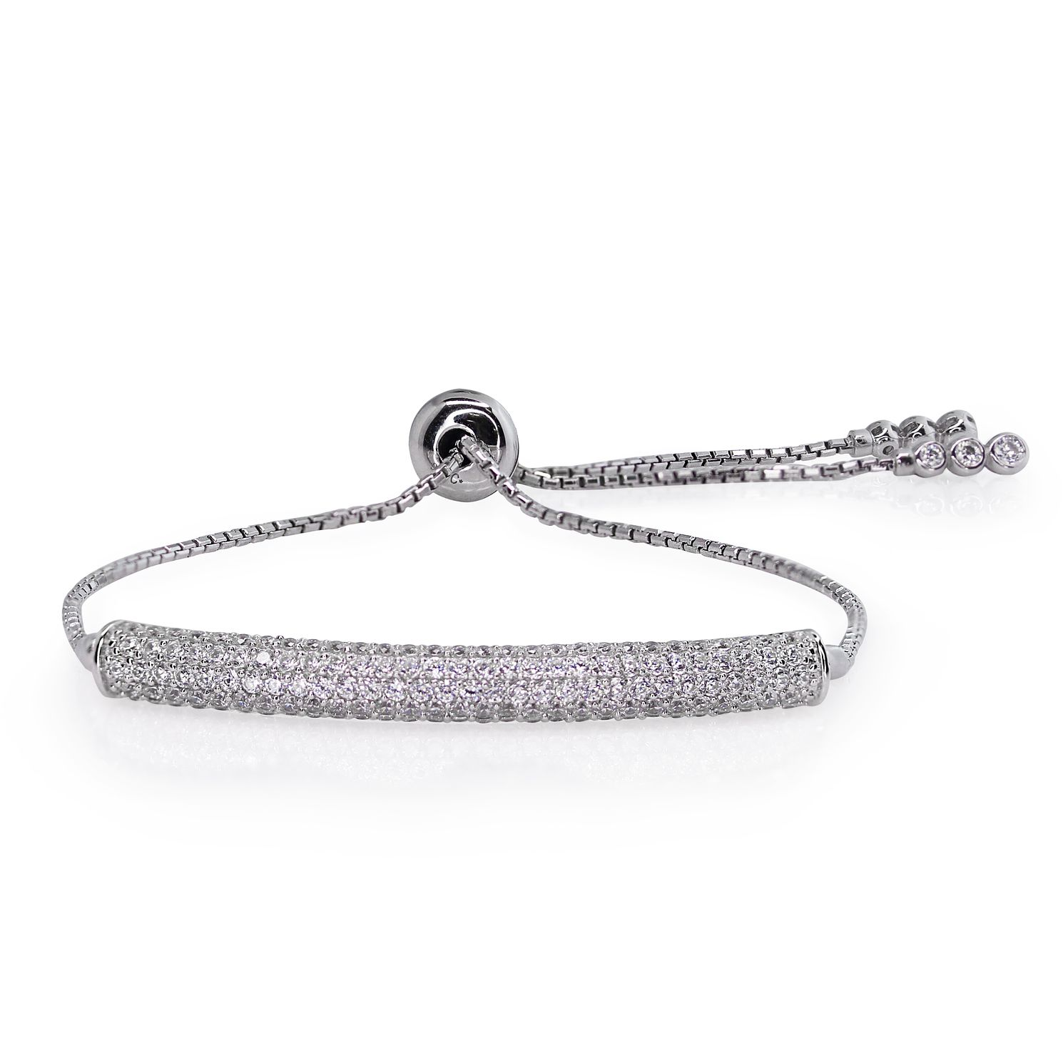 CARAT* LONDON Millennium Brilliants Sterling Silver Bracelet - Product number 3095061